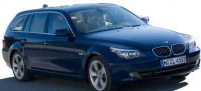 Présentation de la BMW Série 5 SW de 2008