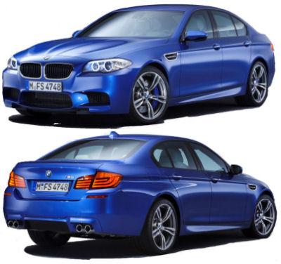 DESIGN EXTERIEUR BMW M5 2012