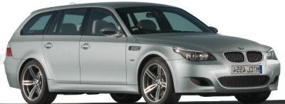 Présentation de la BMW M5 Touring  de 2008